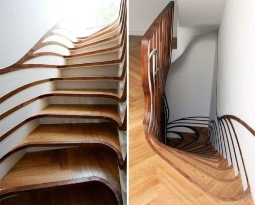 Etonnant Custom Wood Stairs